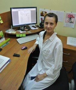 Языкова Елена Владимировна — заведующая экоаналитической лабораторией